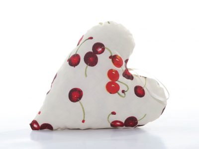 Handmade decorative pillow heart-shaped The In loved Bunny