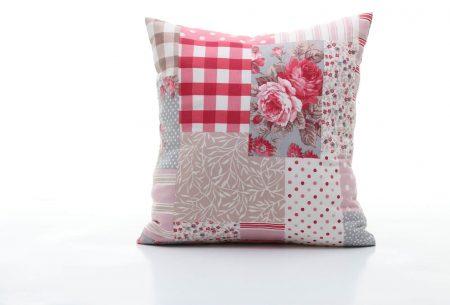 Pernă decorativă handmade cu imprimeu floral