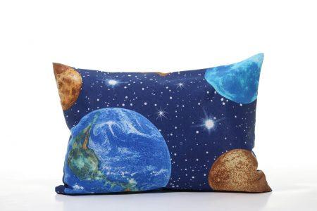 Pernă decorativă handmade Universul infinit