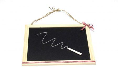 Tablă de scris cu cretă