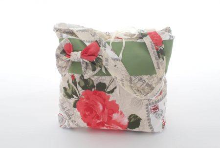 Geantă handmade Vintage roses
