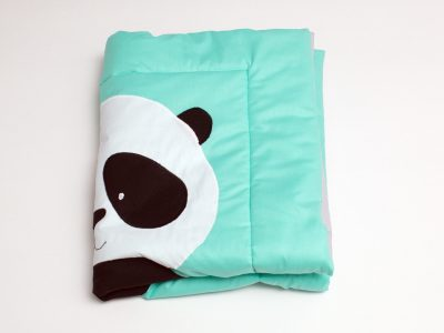 Pilota pentru bebelusi Ursuletul Panda, 80x100 cm