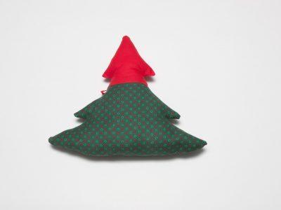 Pernă decorativă handmade Brad de Crăciun