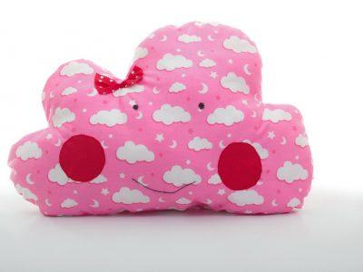 Pernă decorativă handmade Norişor roz Bowema