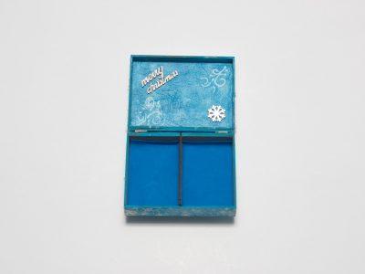Cutie cu amintiri Blue Christmas