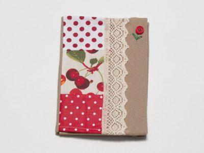 Carte-pentru-rețete-Cireșe-de-Mai-personalizată-handmade-Bowema