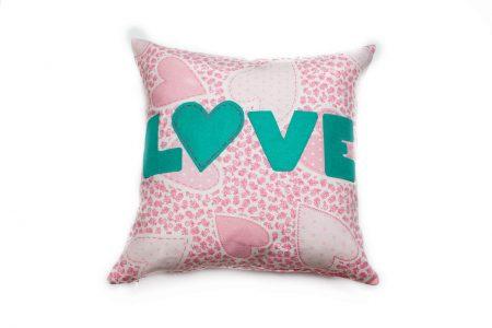 Pernă decorativă handmade True love Bowema