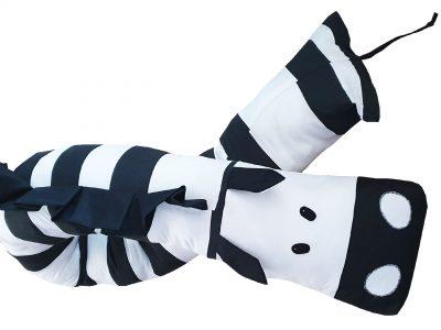 Baby bumper handmade Zebra