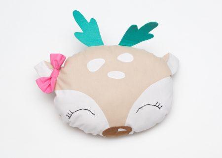 Perna decorativa handmade Cute Deer