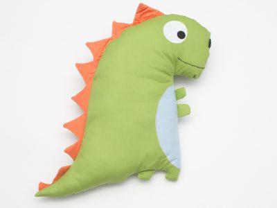 Perna decorativa handmade Dinozaur - spate