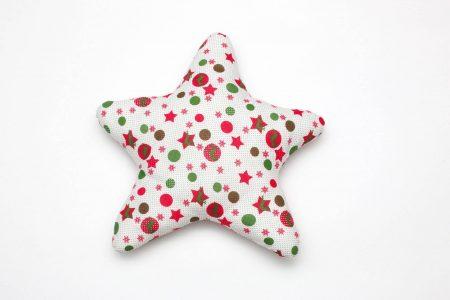 Perna decorativa handmade Steaua Craciunului