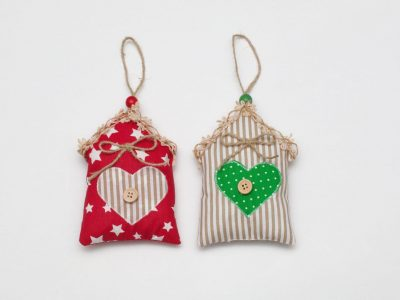 Set decoratiuni handmade Casute