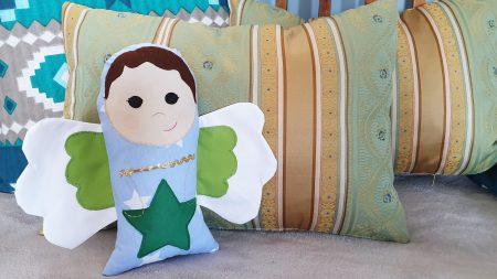 Ingeras decorativ handmade Star 1