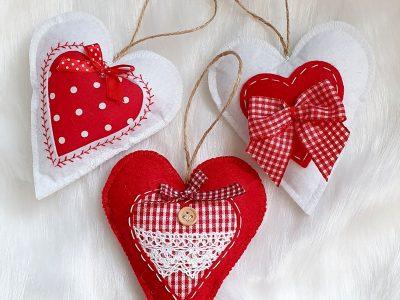 Ornamente handmade Inimioare 1