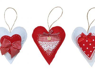 Ornamente handmade Inimioare
