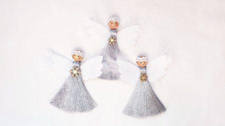 Set ingerasi decorativi handmade Craciun