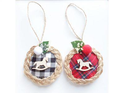 Ornamente handmade pentru brad Caluti