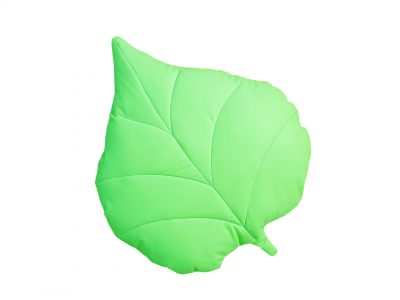 Perna decorativa handmade Frunza verde